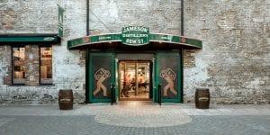 jameson distillery bow street near cardiff lane