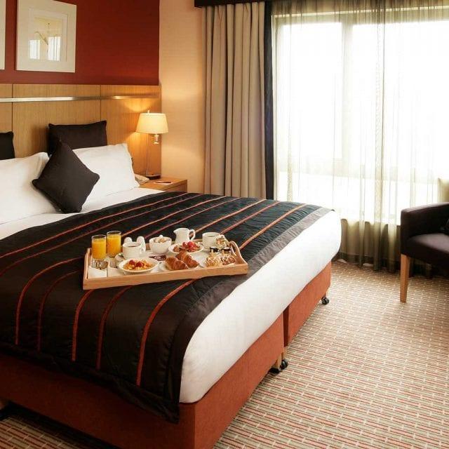 Standard hotel room at Clayton Hotel Liffey Valley