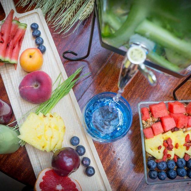 Fresh fruits served in the Clayton Hotel Vitality Breakfast