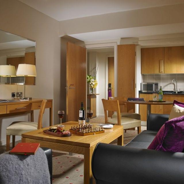 Executive hotel room at Clayton Hotel Liffey Valley