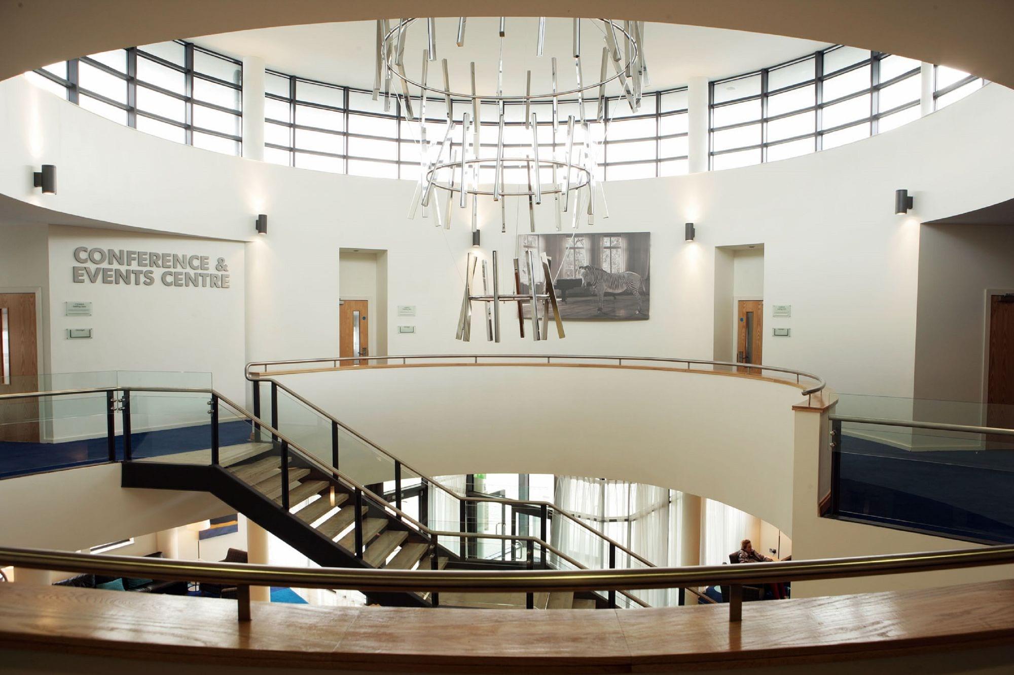 Conference Centre atrium at Clayton Hotel Liffey Valley