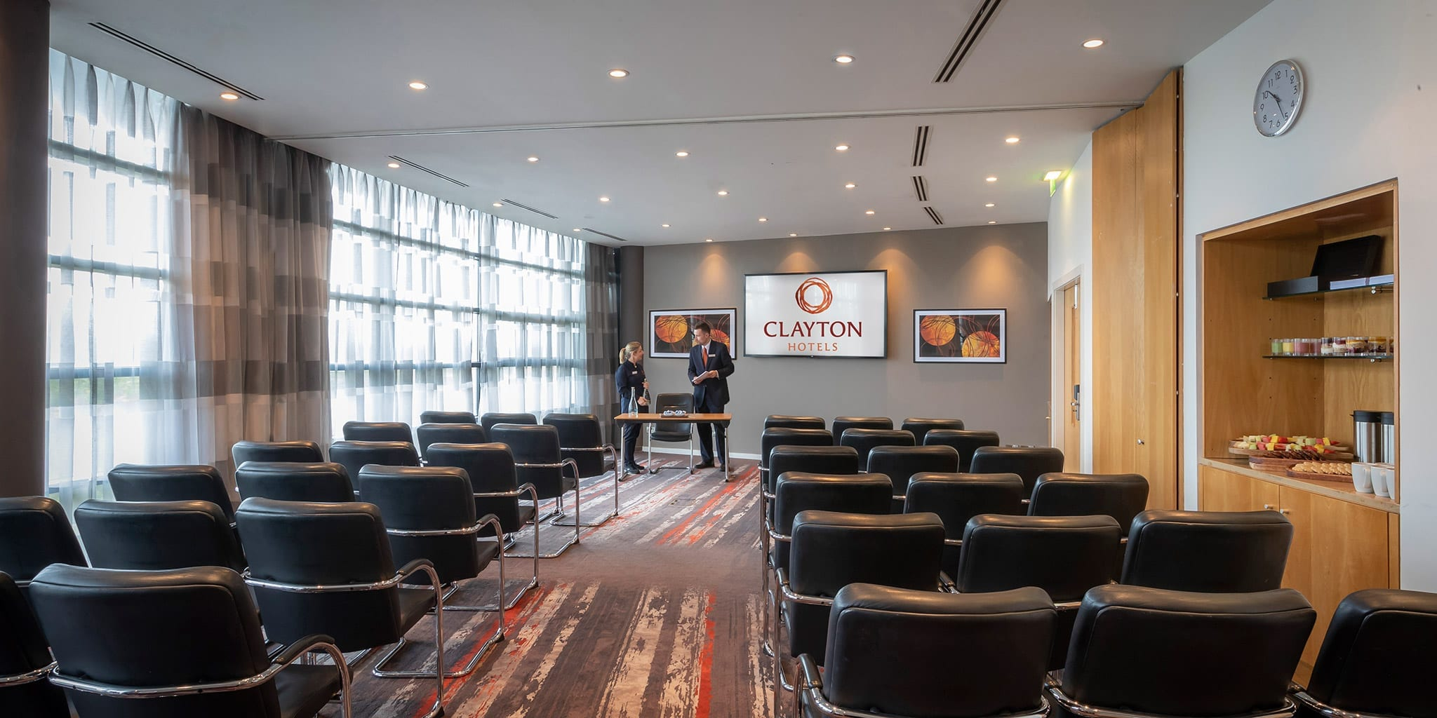 Meeting room at Clayton Hotel Liffey Valley, Dublin