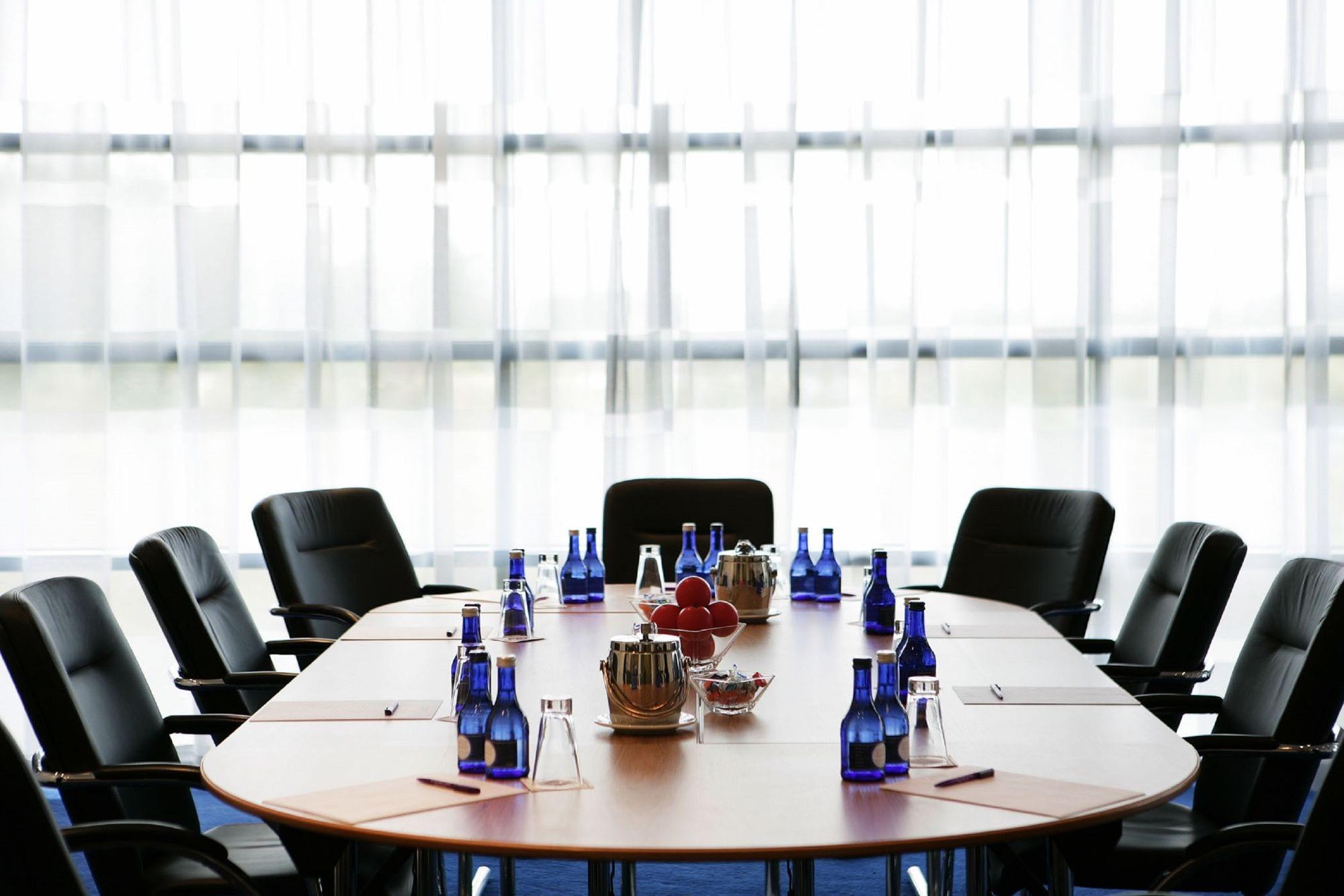 Boardroom meeting in Clayton Hotel Liffey Valley