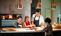 kids-making-pizza-with-Gusto-chef-at-Clayton-Hotel-Liffey-Valley