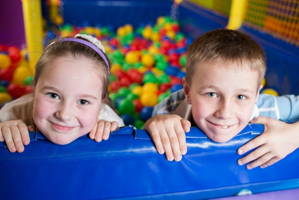 children at jump zone - clayton hotels